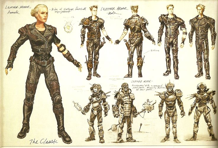 Leather armor - The Fallout wiki - Fallout: New Vegas and more