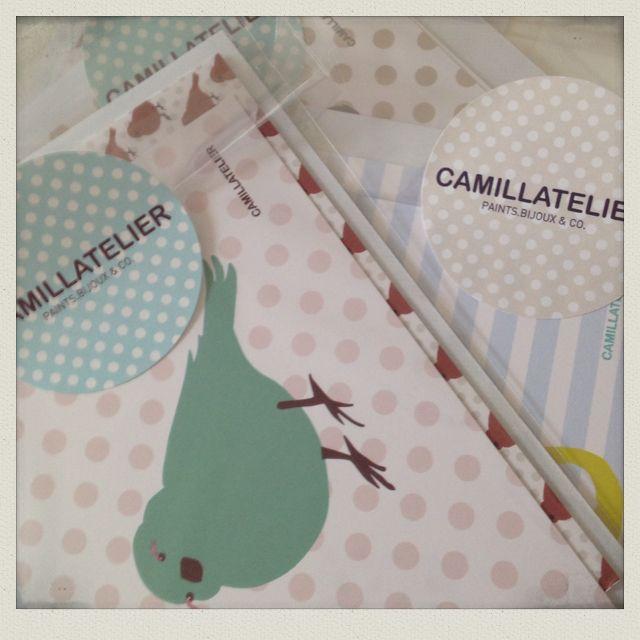 #camillatelier #postcards