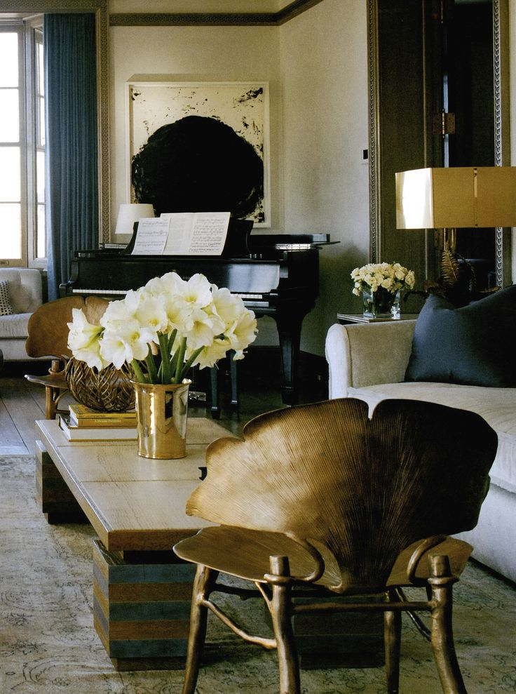 Stephen Sills living room. Accent chairs bring a sitting area character. They make a statement about who you are.