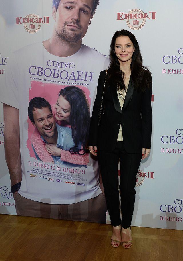 Данила Козловский и Елизавета Боярская на премьере фильма «Статус: Свободен»