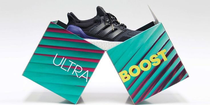 Adidas Ultra Boost — The Dieline | Packaging & Branding Design & Innovation News