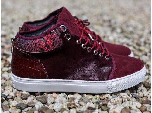 Maison Garments Burgundy Sneaker                                                                                                                                                                                 More
