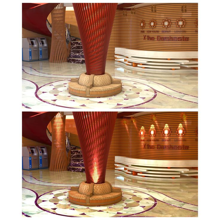 Hotel Reception inspired from sea world The dorchester hotel .. Before and after #photoshop
