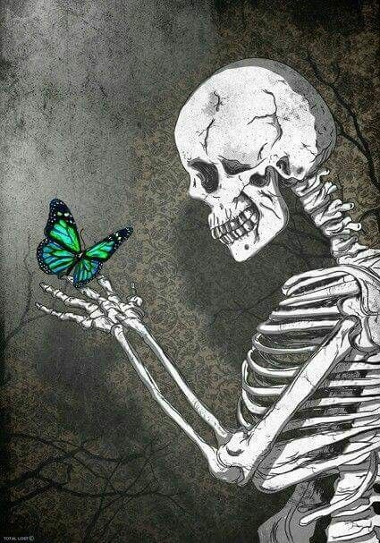 Because death can be beautiful