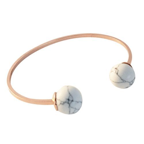 DOUBLE BALLIN MARBLE BANGLE (ROSE GOLD)  www.minimalistjewellery.com.au    #minimalistjewelry #minimalistjewellery #minimalist #jewellery #jewelry  #jewelleries #jewelries #minimalistaccessories #bangles #bracelets #rings  #necklace #earrings #womensaccessories #accessories