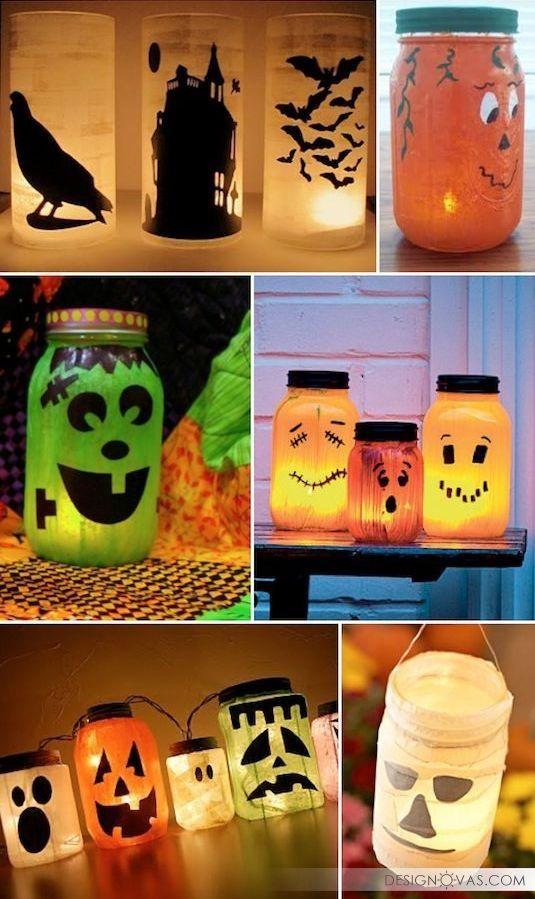 Украшаем дом на Хэллоуин своими руками - 24 бюджетные идеи |  #праздник #хэллоуин Круто