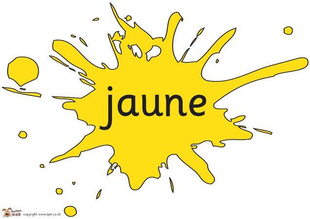 Teacher's Pet - French Colours (Paint Splats) - FREE Classroom Display Resource - EYFS, KS1, KS2, colour, france, foreign, language, languag...