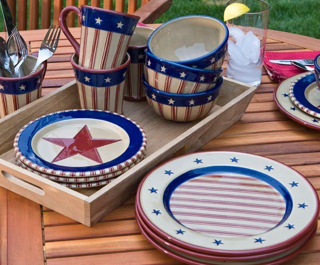 4th of july table ideas | Nice Home Decor & 20 best Fourth of July Festivities images on Pinterest | July 4th ...