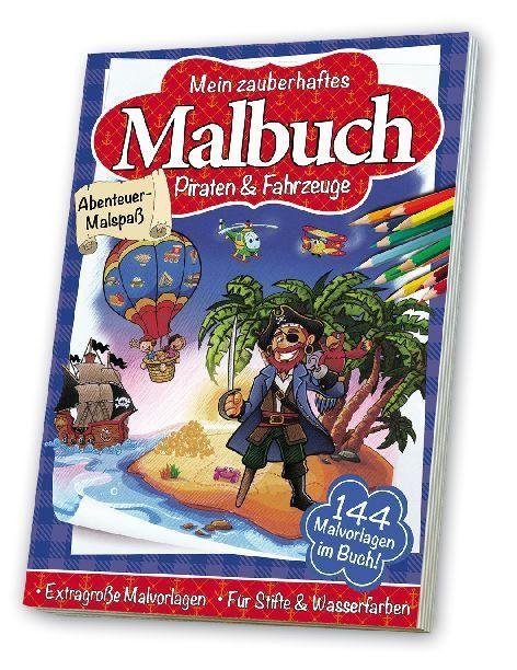Malbuch Kindermalbuch Kinderbücher - DIN A4 , Extra Große Malvorlagen kaufen bei Hood.de - Ausstattung Heft Seiten 140