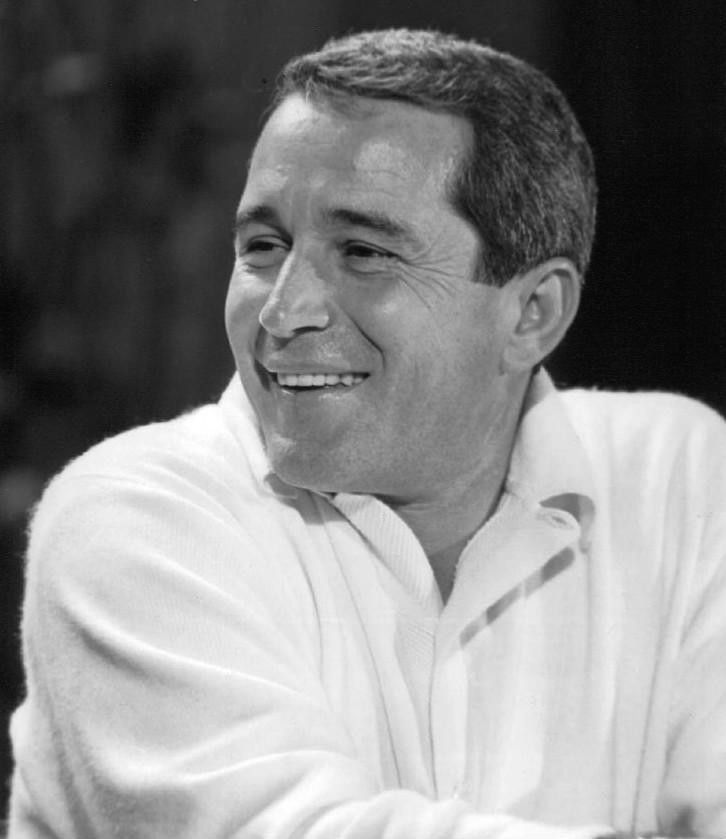 Perry Como, relaxed....smooth voice.