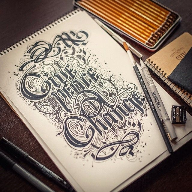 typography - lettering