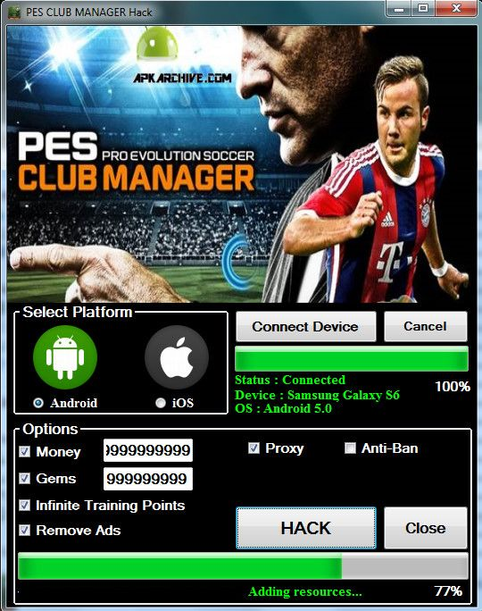PES Club Manager 5 90 0 Apk Mod Download PES Club Manager