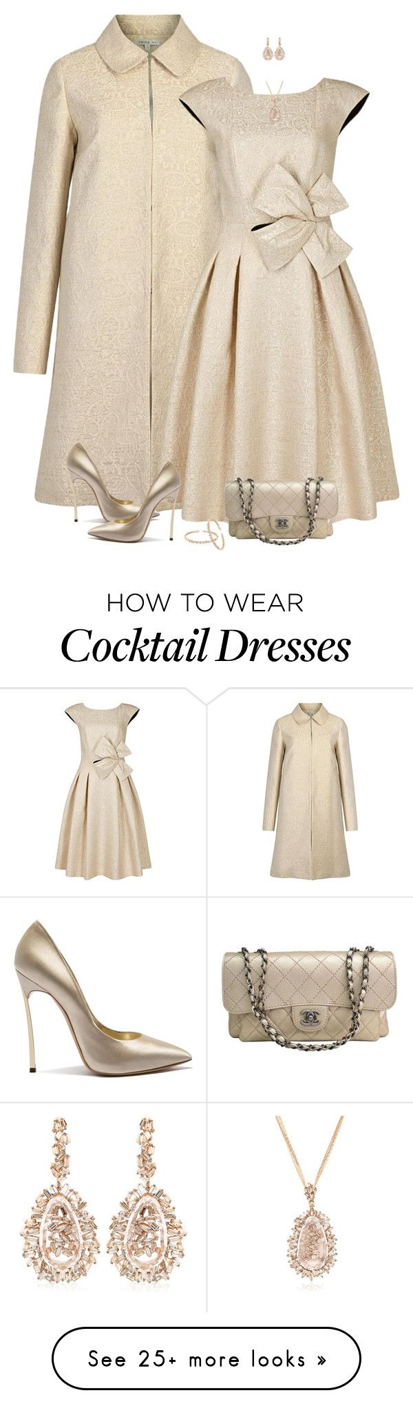 """""""set"""" by vesper1977 on Polyvore featuring Paule Ka, Casadei, Chanel and Suzanne Kalan"""