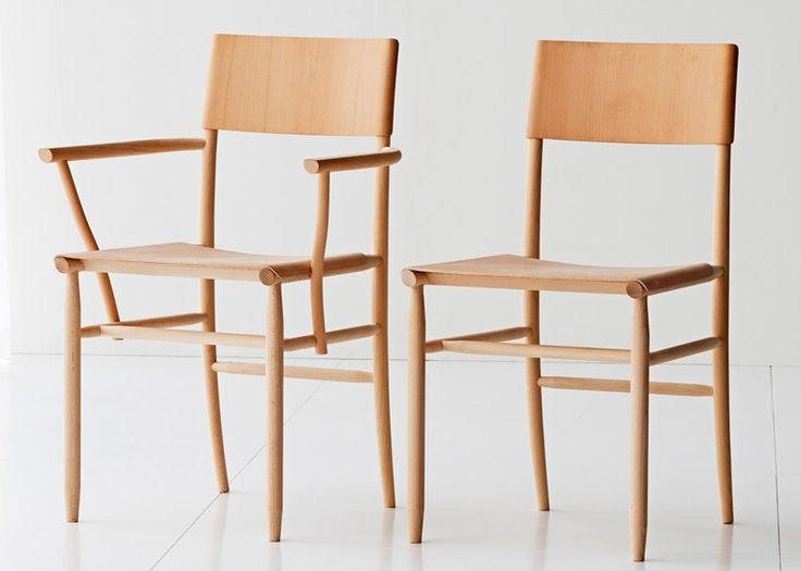 Swedish designer David Ericsson has created a lightweight chair in solid beech for furniture brand Gärsnäs.