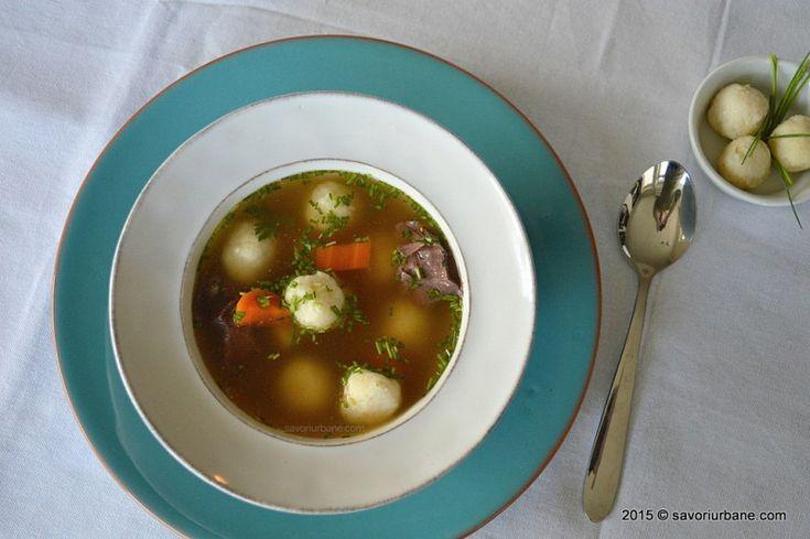 Galuste de gris oparite pentru supa