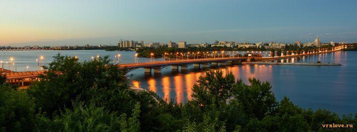 Летний вечерний Воронеж