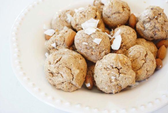 Healthy cookies! #galletassaludables #galletasdealmendra #fitcookies #afternoonsnack #healthysnack #healthyrecipes #healthybreakfast
