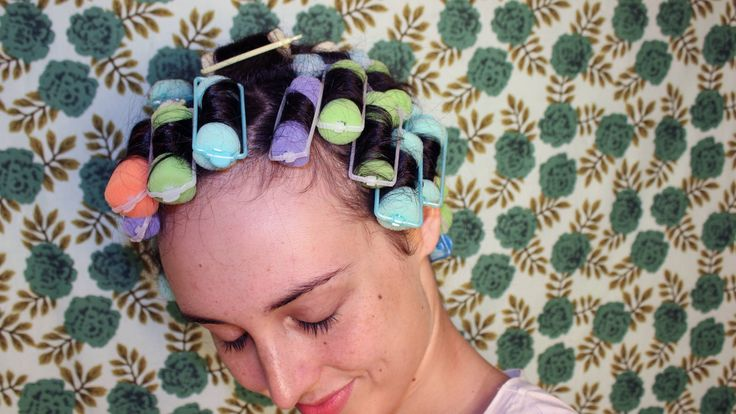 3 Hairstyles That Start With Foam Rollers