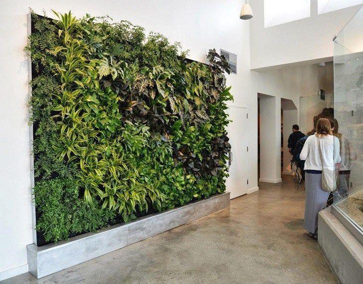 Garten vertikale Design voller Grün für jeden Stil New Best Decoration Ide– pflanzen