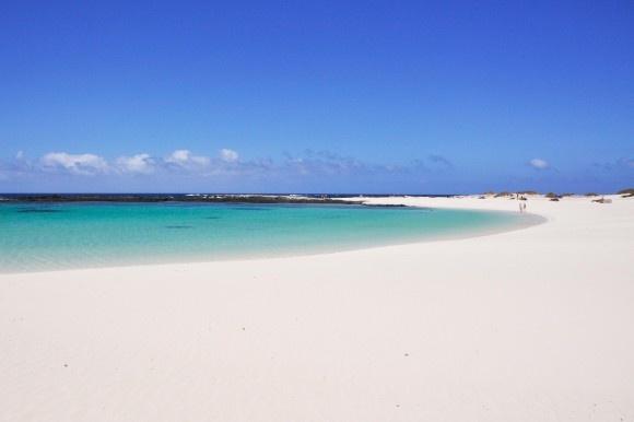 Playa del los Lagos/Fuerteventura (nördlich vom kleinen Dörfchen El Cotillo)