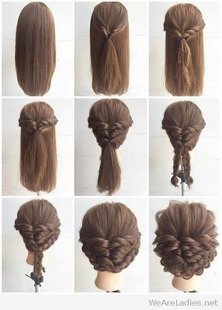 fashionable braid hairstyle tutorial