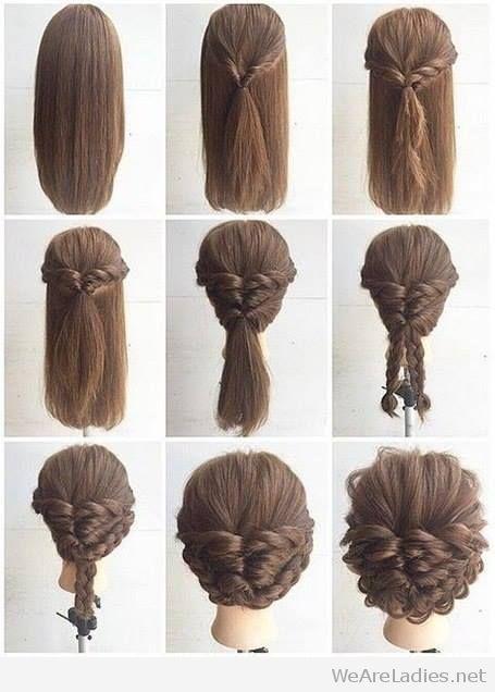 fashionable braid hairstyle tutorial