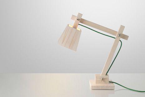 Wood Table Lamp Taf