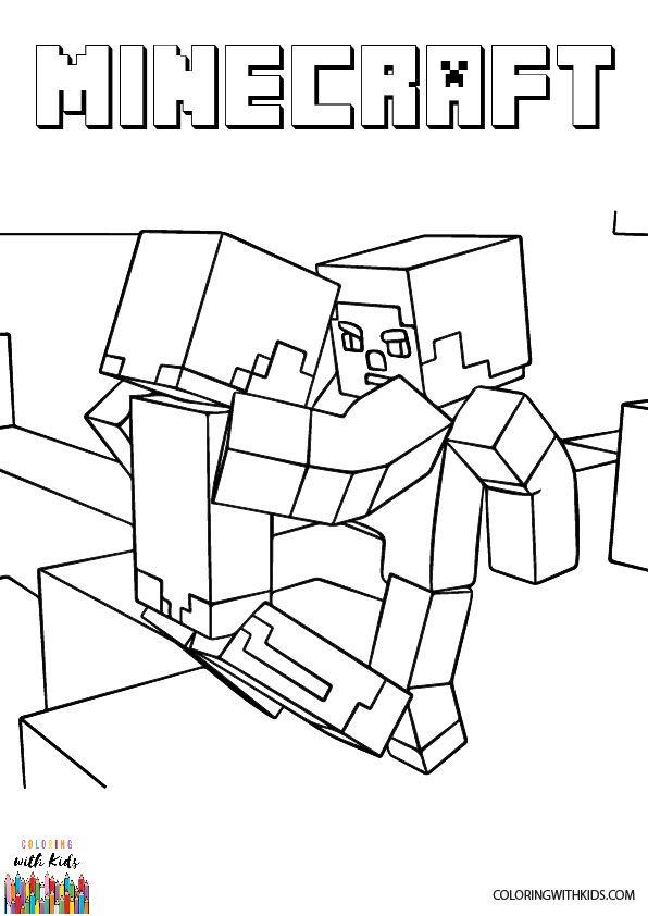 615bae18027f97e80d6ace7b5af52083 » Zombie Pigman Coloring Pages
