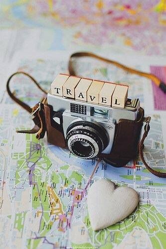 Just travel. And don't forget to take a camera