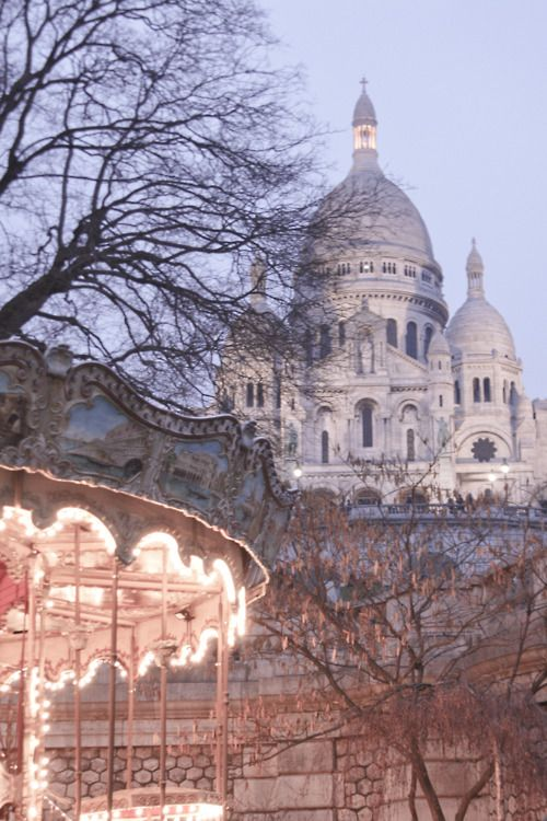 The Sacré Coeur, located in #Montmartre, is beautiful. From there, you can enjoy one of the most beautiful view of the city.