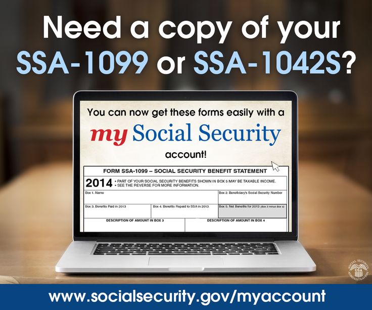 Need a replacement SSA-1099 or SSA-1042S? Get a copy instantly with #mySocialSecurity http://ow.ly/IfaUr