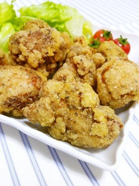鶏のレモンペッパー*塩唐揚げ