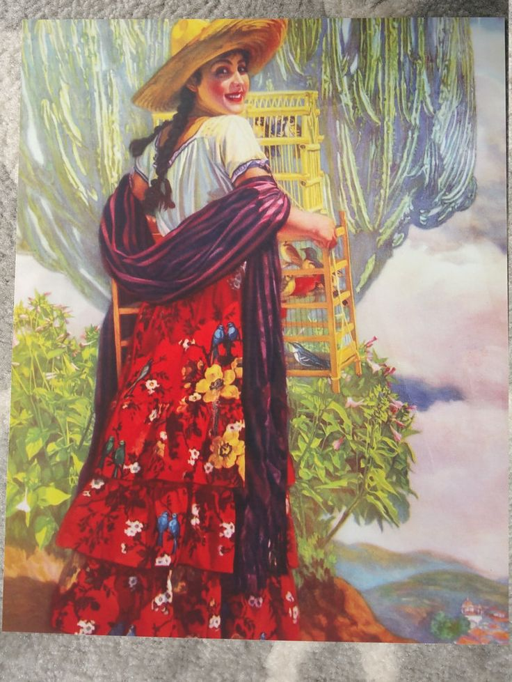 Vintage Mexican Calendar Art : Best images about mexican calendar girls pin ups on
