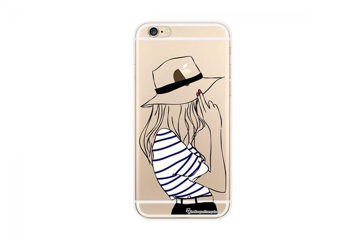 Coque transparente pour iPhone 5/5S et Iphone 6/6s