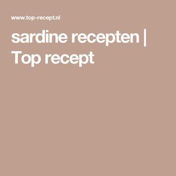 sardine recepten   Top recept