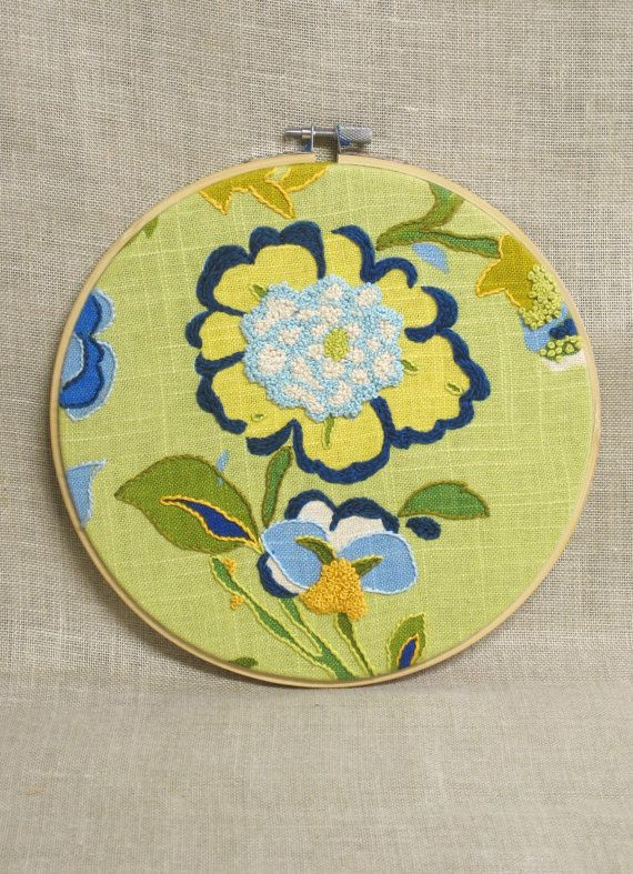 57 best Embroidery Hoop Art images on Pinterest | Costura ...