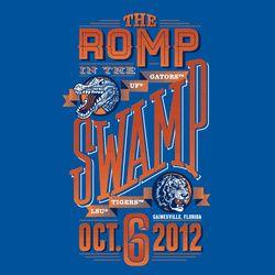 2012 Official Gameday Shirt -   #10 Florida vs #4 LSU... LET'S GO GATORS!!!