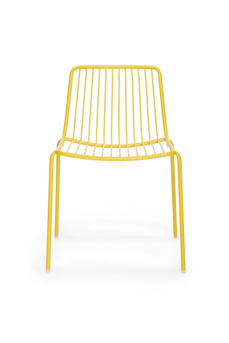 Metal  garden  chair Nolita 3650   PEDRALI  yellow. Best 25  Metal garden chairs ideas on Pinterest   Cheap garden