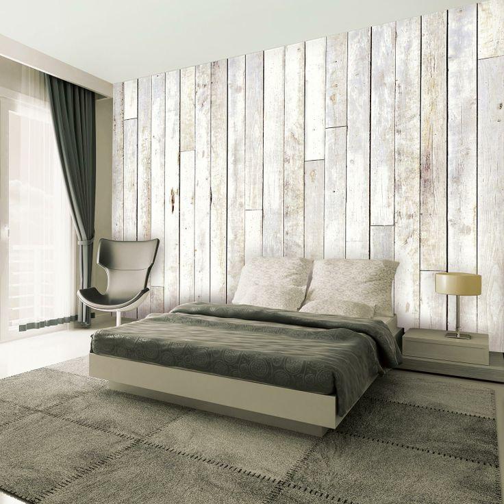Scrapwood Giant Wallpaper Mural | ACHICA