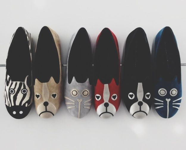 Marc by Marc Jacobs FW13 Critter Flats