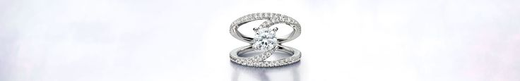 Engagement Rings - Gabriel  We love this new design by Gabriel Engagement Rings #benqueilsfinejewelry #jewelry #engagementrings