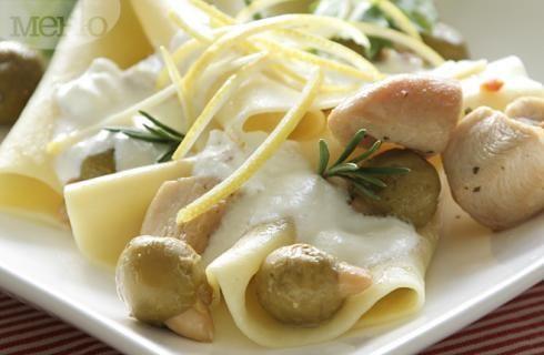 Снимка за Паста с пиле, маслини и рикота