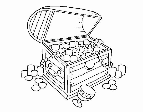 Treasure Chest Coloring Page Lovely Pirate Treasure Chest Coloring Pages At Getcolorings In 2020 Coloring Pages Elsa Coloring Pages Treasure Chest