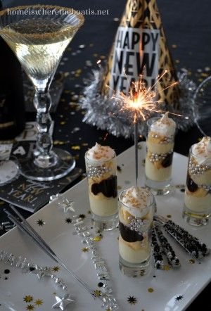We're ushering in the New Year with Sparkling Mini Parfaits~ a festive and party size dessert~ easy to assemble and alter with your ingredients, making them as fancy or simple as you like! My…