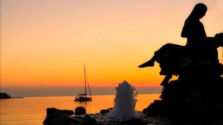 Μαγευτικό Ηλιοβασίλεμα στο Κίνι
