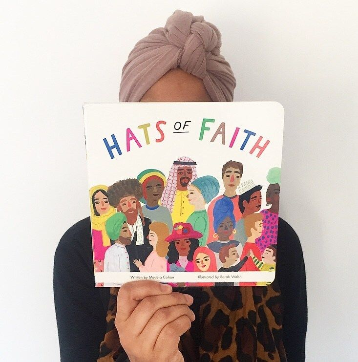 Book review hats of faith by medeia cohan and illustrated