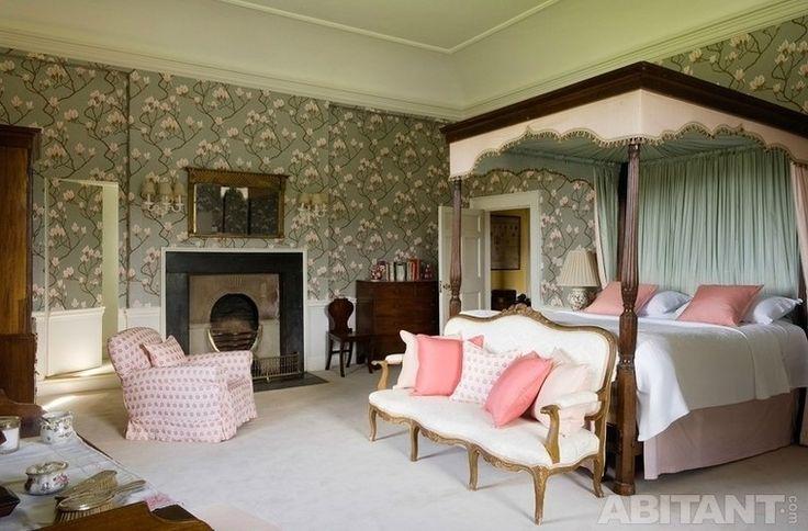 Классическая английская спальня
