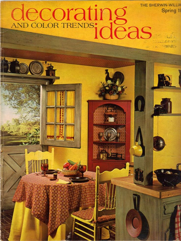 17 Best Images About Yellow Retro Kitchens On Pinterest