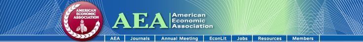 AEAweb: The American Economic Association.  Source of funding opportunities/news for economic research. http://aeaweb.org/funding/funding.php