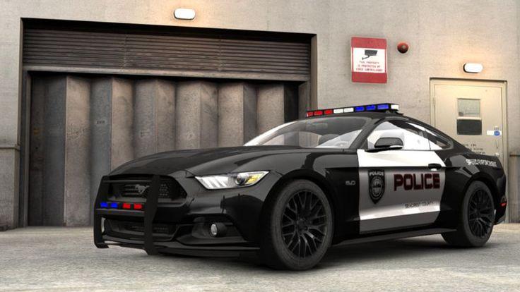 Ford Mustang Police Car   GTA 4 2015 Ford Mustang GT Polis ...